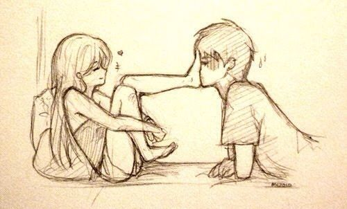 Pin By Stephany Casanova On Relationships Cute Couple Drawings Cute Sketches Love Drawings