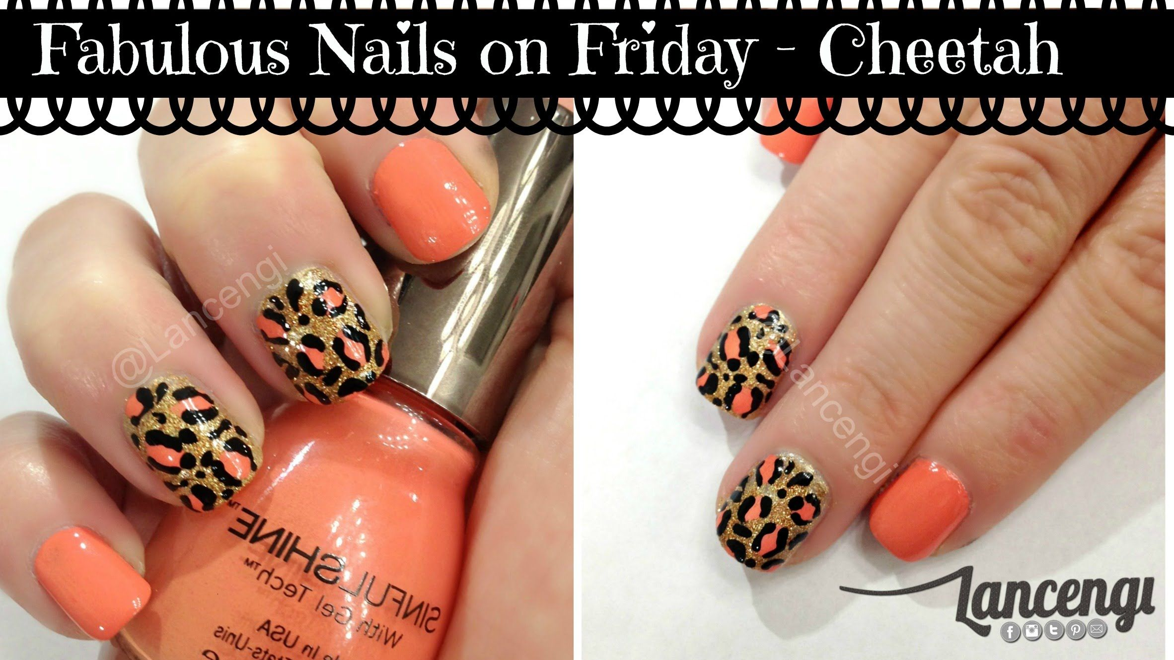 Trend Report Fab Friday Nails Spring Cheetah Nail Design #5 by ...