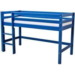 Half-high beds & half-high beds -  Half-high bed Basic with ladder hoppekidshoppekids  - #amp #Beds #boysbedroom #Halfhigh #sofabeddiy #woodenbeddiy
