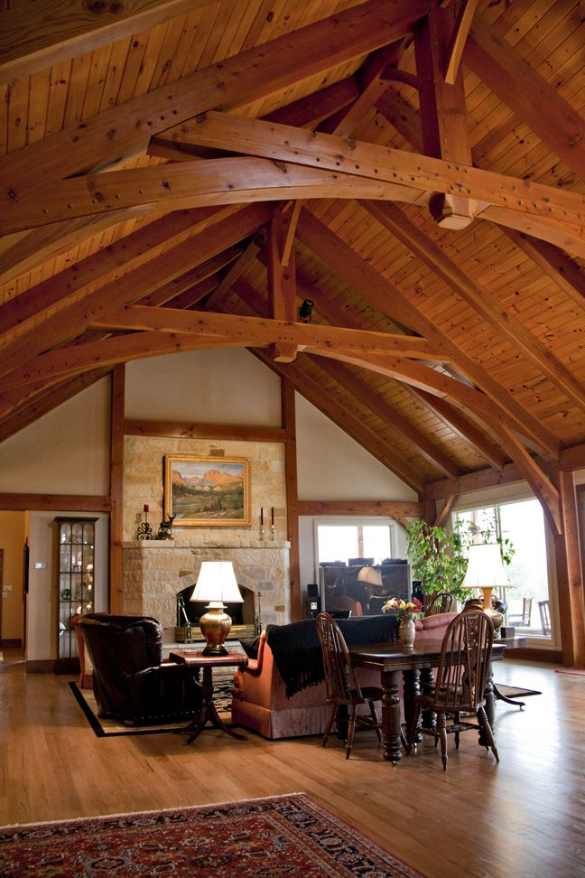 Simply Gorgeous: Texas Timber Frames - Galleries :. Timber Trusses ...