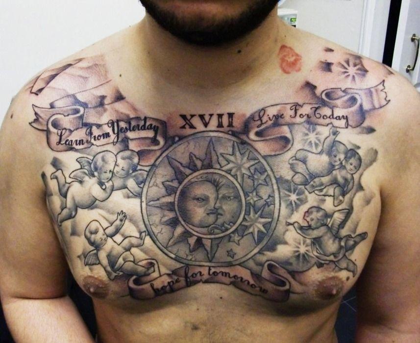 Impressive Chest Tattoos for Men Tattoos for Men Chest Tattoos Men