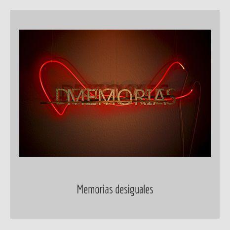 MEMORIAS DESIGUALES.  YENY CASANUEVA Y ALEJANDRO GONZÁLEZ. PROYECTO PROCESUAL ART.