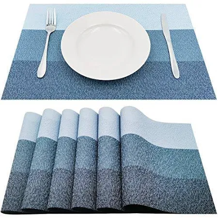 Plastic Placemats Blue White Google Shopping Dining Table Setting Blue Placemats Placemats