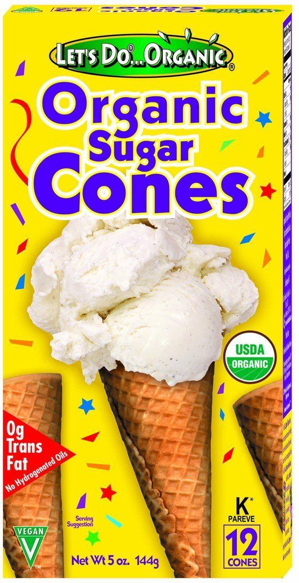 Feuilletine Substitute Egg Free Corn Free Sugar Cones Buy Them Local Crunch Them Up For A Fancy Topping Organic Ice Cream Organic Sugar Organic Baking Soda