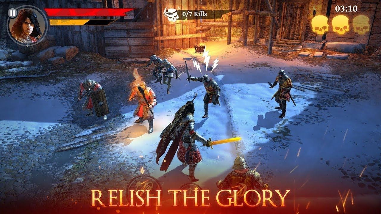 Best IOS/Android Iron Blade Medieval Legends RPG Level 5