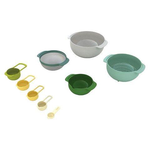 Joseph Joseph Nest™ 9 Plus Mixing Bowl Set - Opal  sc 1 st  Pinterest & Joseph Joseph Nest™ 9 Plus Mixing Bowl Set - Opal | Kitchenware + ...