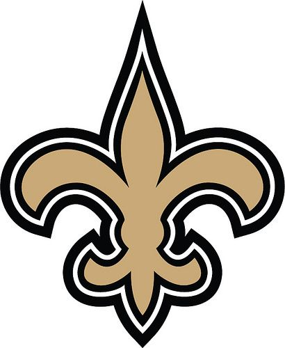 15+ New Orleans Saints Clipart Black And White