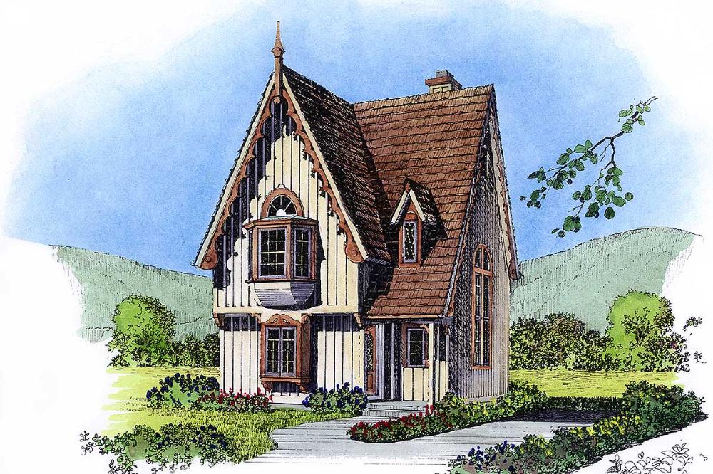 Plan 43043pf Vintage Charm Diy House Plans Cottage Floor Plans Luxury House Plans
