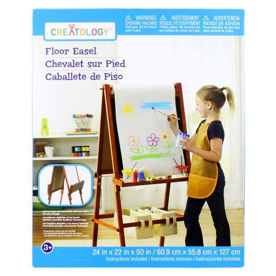 creatology® wooden floor easel | products | pinterest | floor