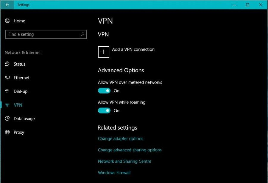 How to turn off your vpn connectio n network virtual