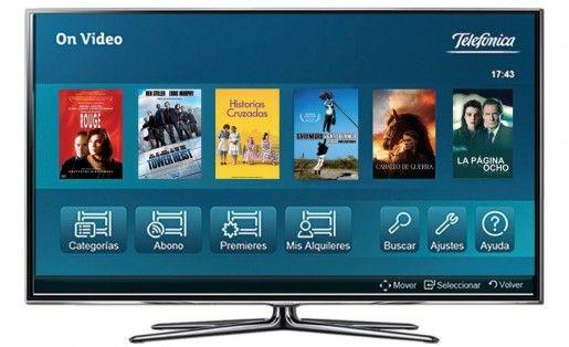 Telefonica ofrece una nueva alternativa para los usuarios de un Smart TV de Samsung
