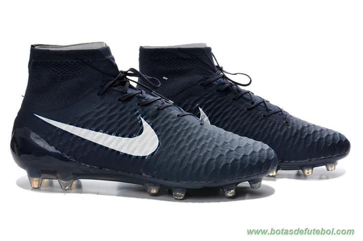 chuteiras profissionais baratas Escuro Azul Branco ACC Nike Magista Obra FG  Masculino 6b957665f052b