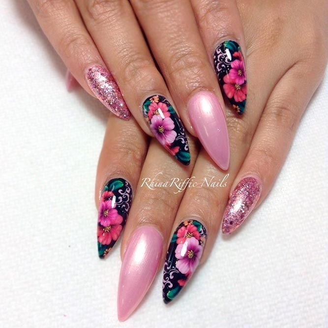 Are You Brave Enough To Try Stiletto Nails They Are All The Rage At