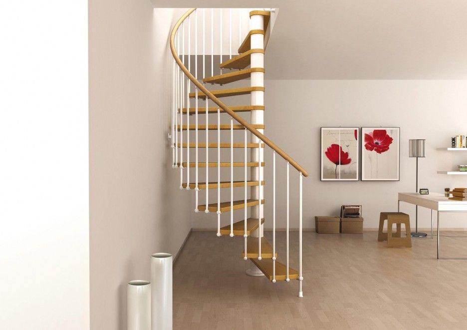 Best Baffling Space Saving Loft Staircase Design Featuring Spin 400 x 300