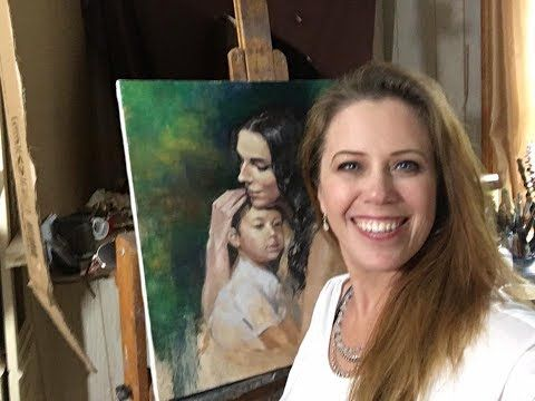 Portrait Painting Demonstration With Jessica Henry Youtube Art