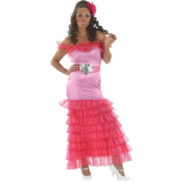 Gypsy Pink Bridesmaid Fancy Dress Las Fat Weddings Hen Liked On Polyvore Featuring Costumes Costume Red
