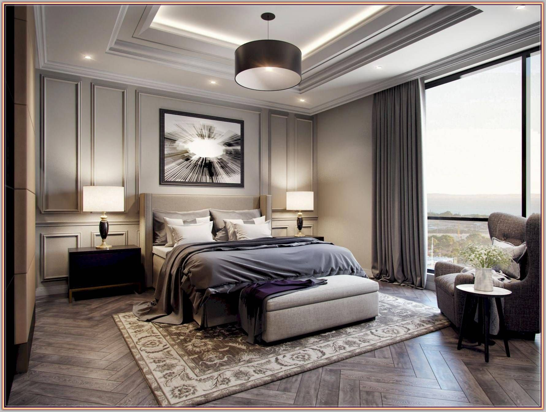 Change The Look Of Your Bedroom With These Design Tips Modern Interior Design Modern Classic Bedroom Modern Master Bedroom Luxury Bedroom Master