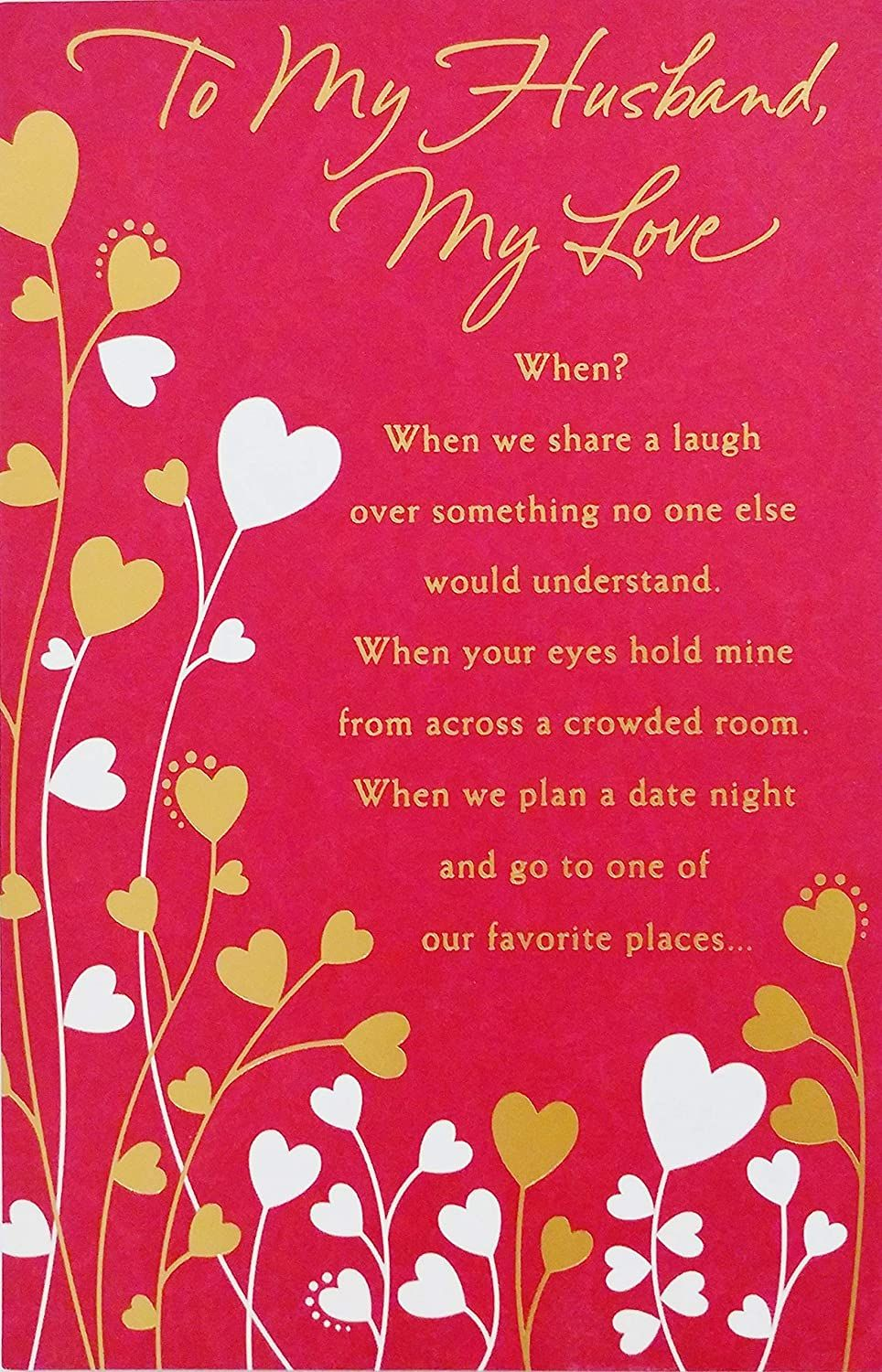 My Love Card In 2021 Love Cards For Husband Valentines Card For Husband Husband Birthday Card