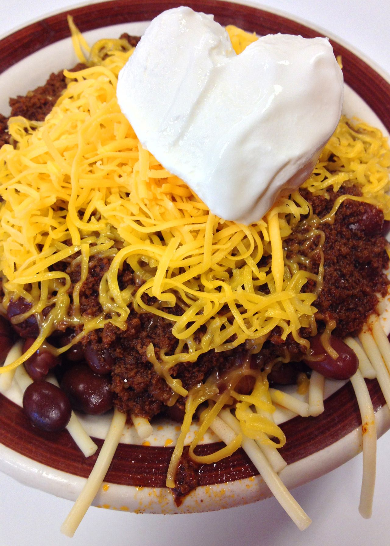 Postmarq Postcards From Marquette University The Marquette Special From Real Chili Earned Real Chili Real Chili Milwaukee Recipe Recipes