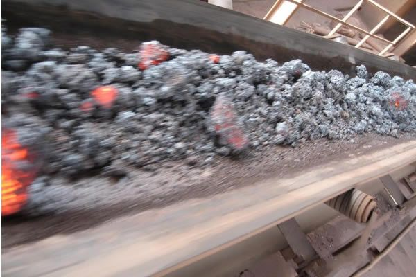 Burning Resistance High Temperature Conveyor Belt This