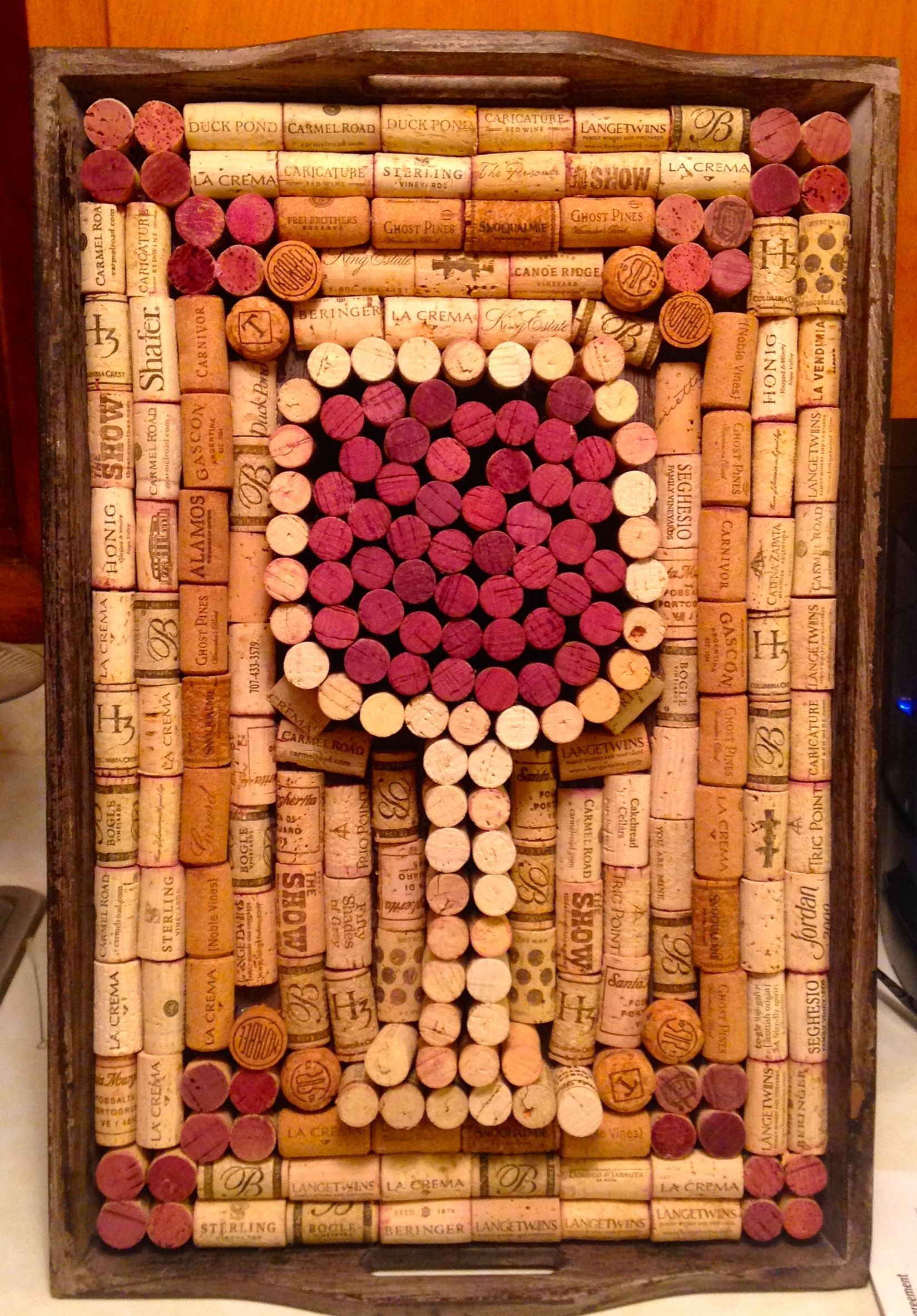 Pin On Wine Cork Art