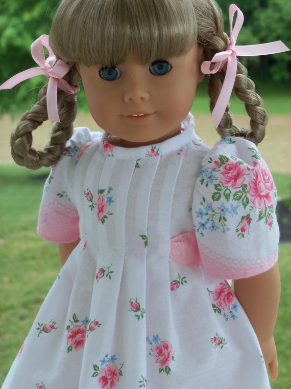 Like American Girl Doll Clothes PRINTED Sewing Pattern / Butterfly ...