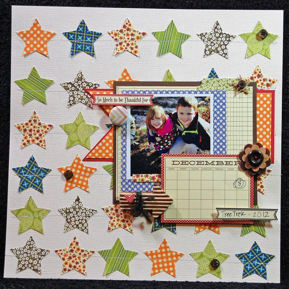 So Much To Be Thankful For Layout by Carly Gannon via Jillibean Soup Blog