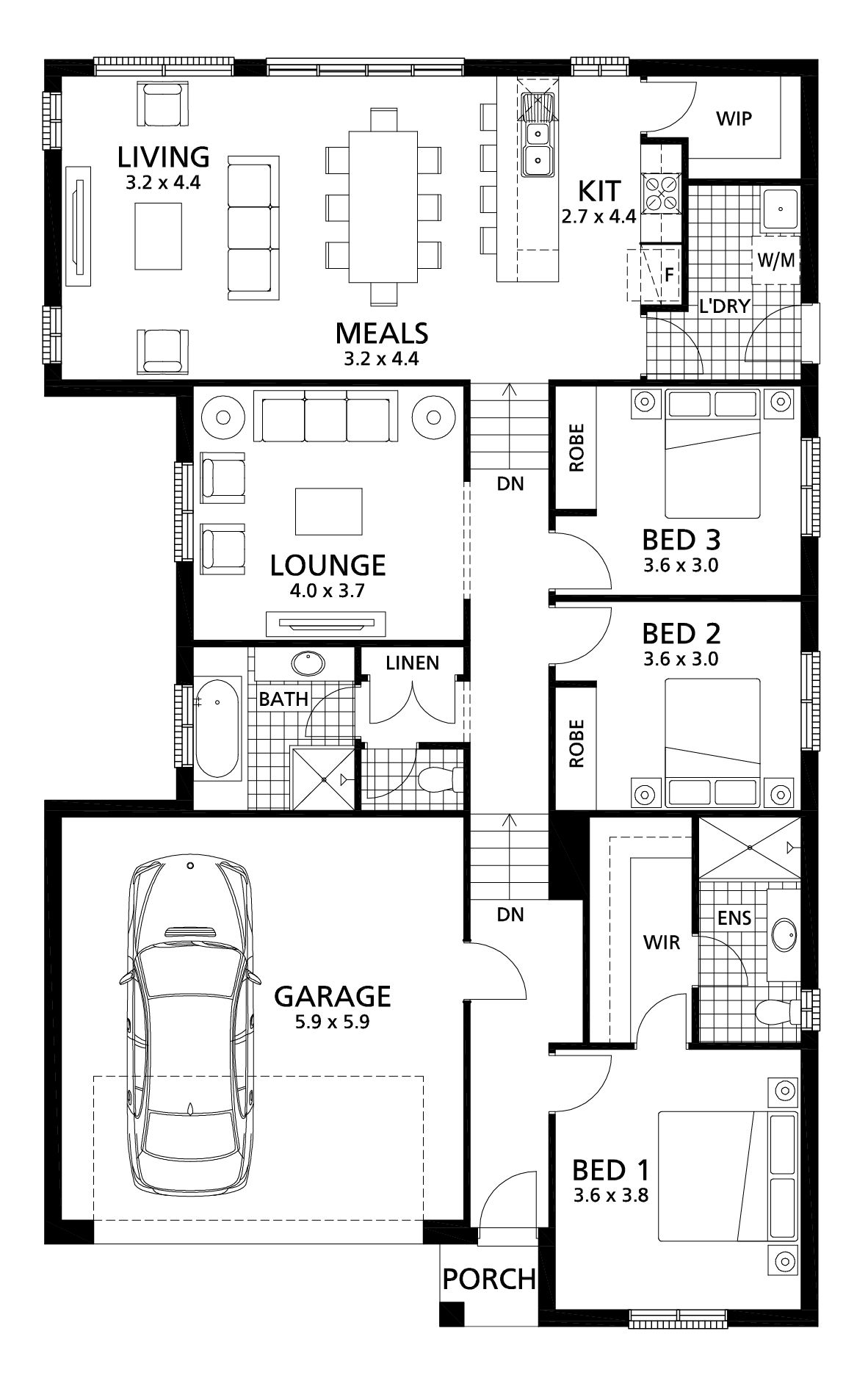 Wistow 190 Rivergum Homes House Plans Australia New House Plans Family House Plans