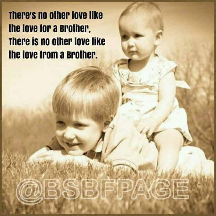 There S No Love Like The Love For A Brother Awesome Sister Quotes Brother Quotes Mindset Quotes Inspiration