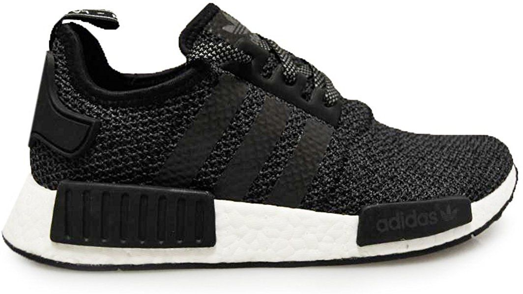 reputable site 2f338 04e47 adidas Mens - NMDR1 - Triple Black White - UK 8.5 Amazon.co.uk Shoes   Bags
