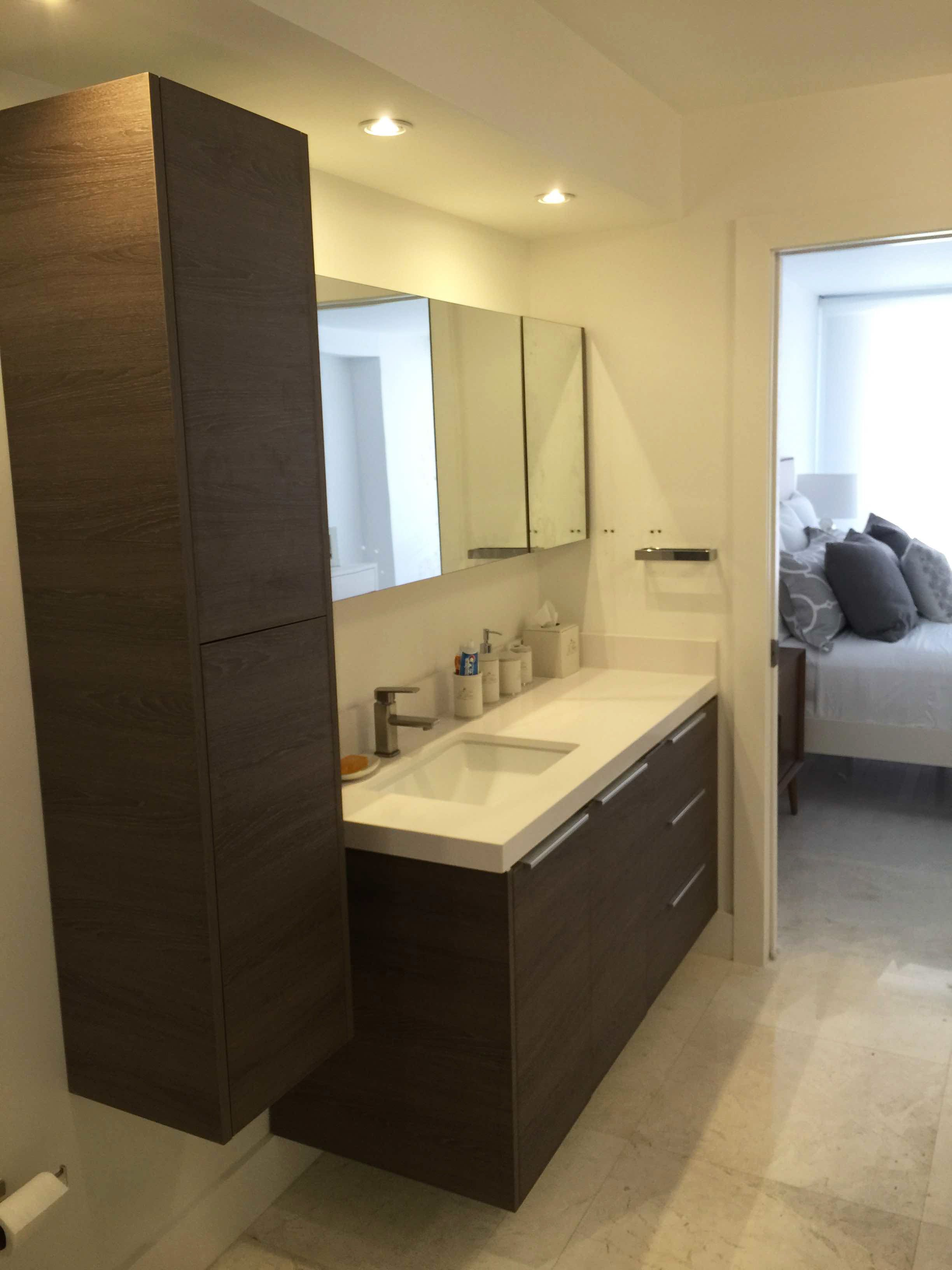 Project Completed In Miami FL Bathroom Furniture Italy Design - Bathroom furniture miami