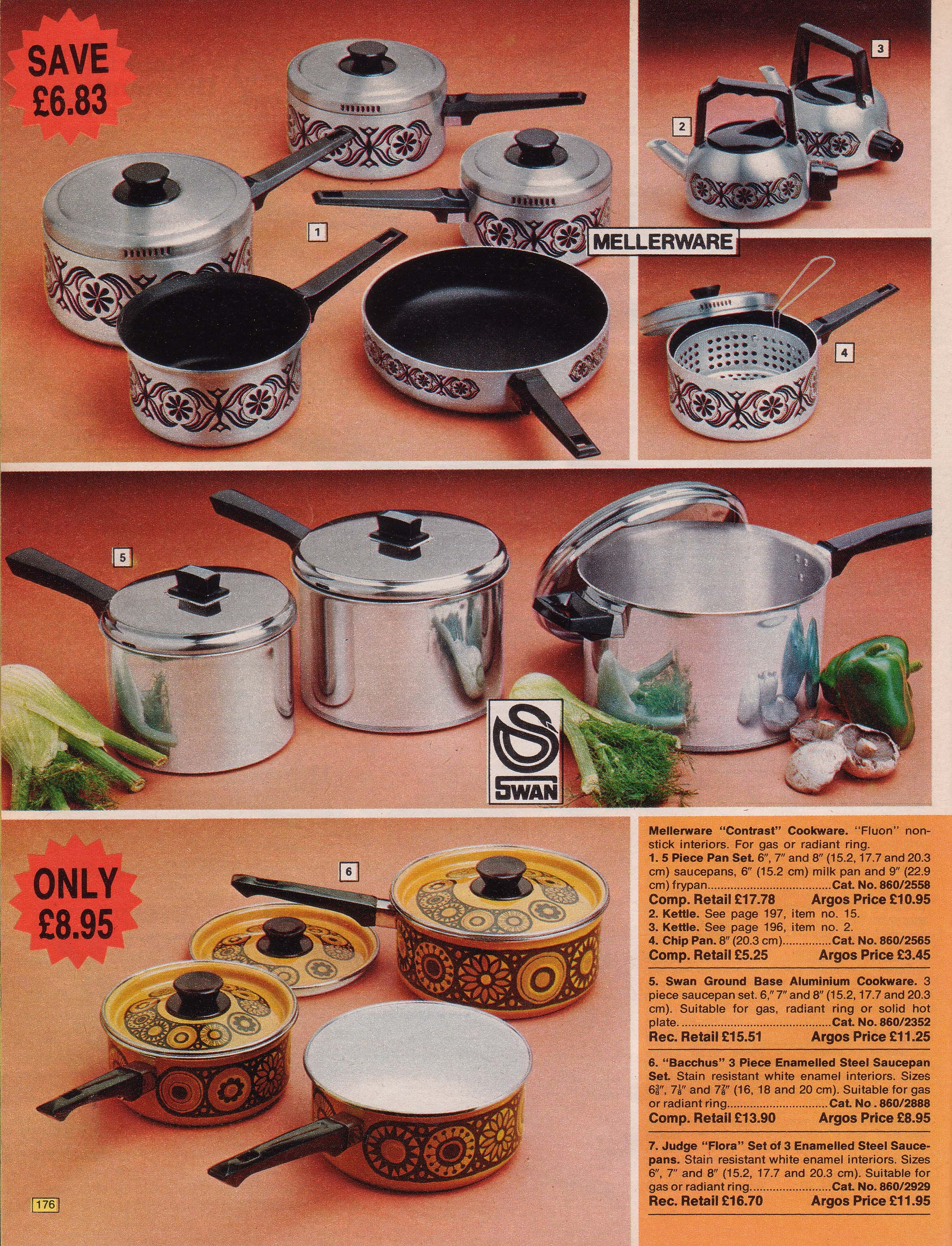 Page 176 Argos, Cooking tools, Catalog