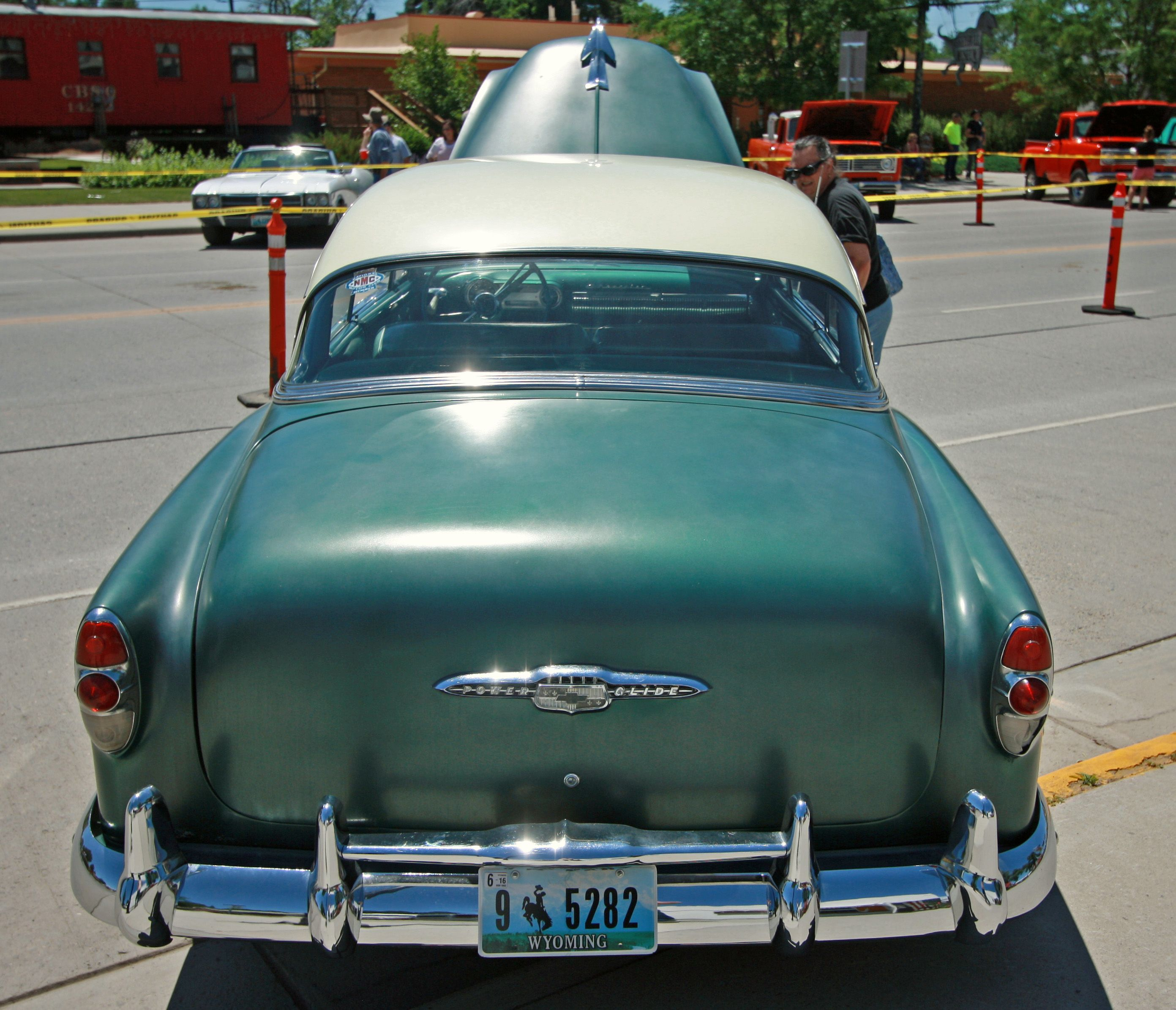 1953 Chevy Bel Air Powerglide Greybull Wyo 2015 C Philip