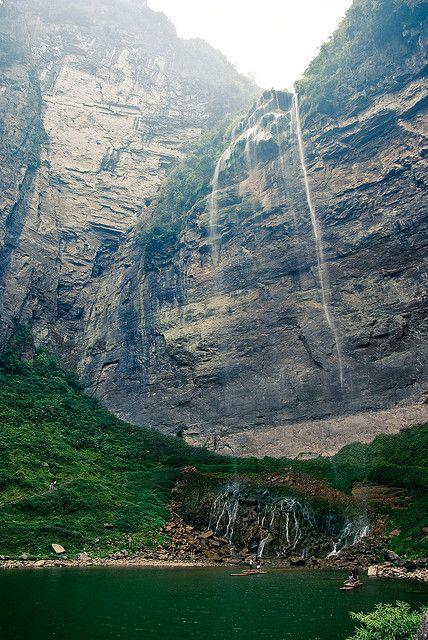Liusha Waterfall, Hunan, China