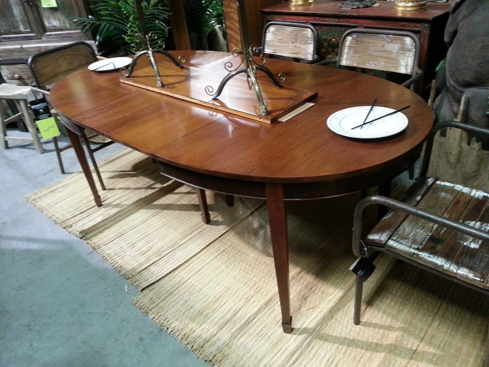 Drexel Mahogany Table From The New Travis Court Collection - Drexel dining table