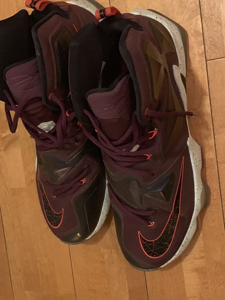 0a011bf63ba Nike Lebron James XIII Size 13 Mulberry Purple Written In The Stars 807219- 500  fashion  clothing  shoes  accessories  mensshoes  athleticshoes (ebay  link)