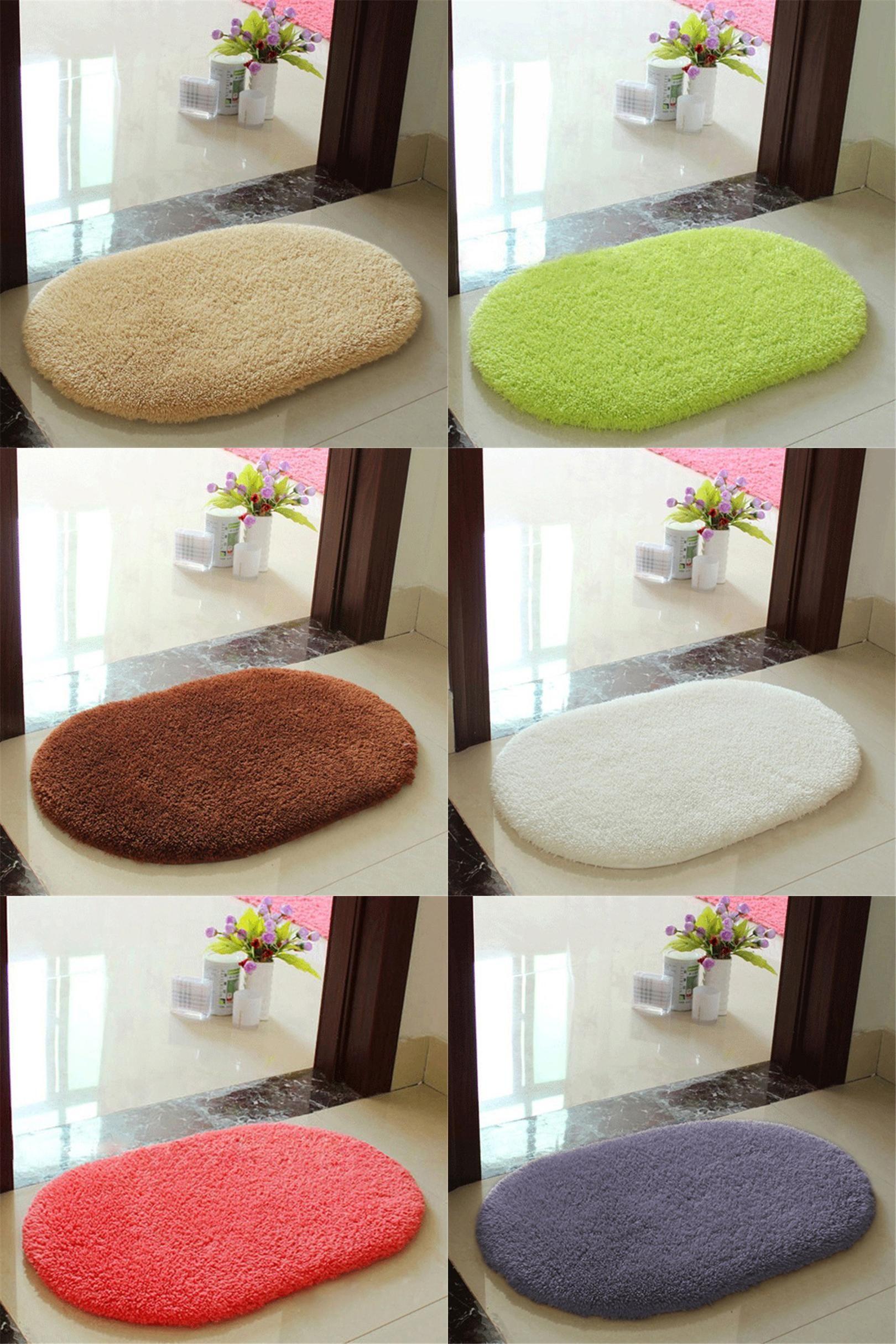 Visit To Buy Fashion Bath Mat Bathroom Plush Velvet Slip - Non skid bath rug for bathroom decorating ideas