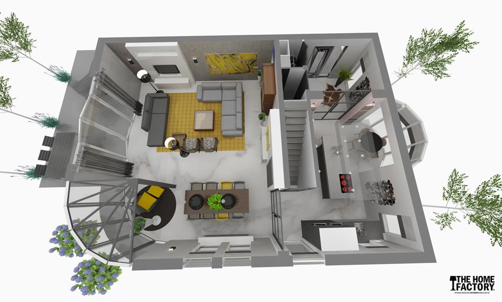 nieuwe-indeling-woonkamer-keuken-ijsselstein3 (1000×601, Deco ideeën
