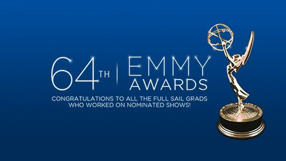 Full Sail Grads on Top Nominees at the 64th Annual Emmy Awards. The credits on this year's nominees show Full Sail alumni working on hits like 'Game of Thrones,' #MadMen, 'Girls,' #BreakingBad, 'American Horror Story,' and more.