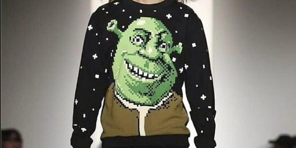 Yes, a 'Shrek' clothing line debuted at New York Fashion Week ...