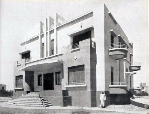 Exterior: Villa For Kamel Bek Abdel Rehim In Heliopolis, Egypt, By