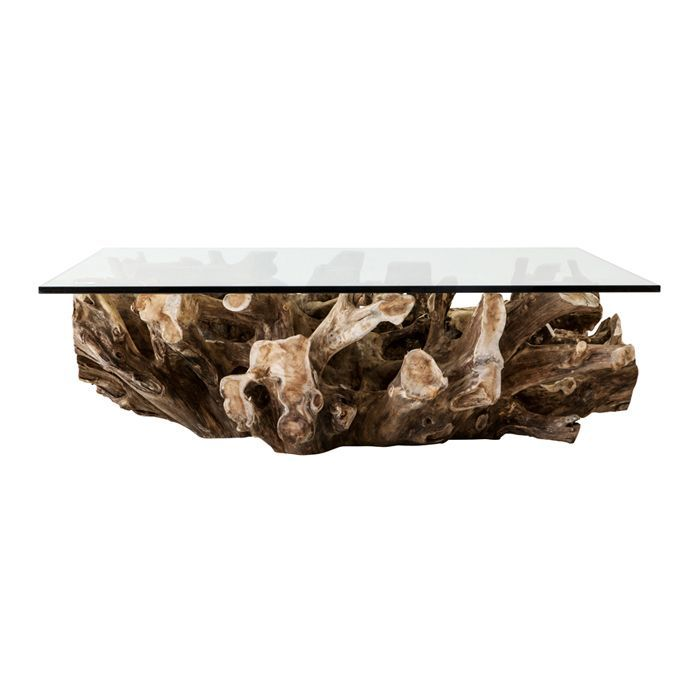 Teak Root Coffee Table - Square For Sale | Coffee table square