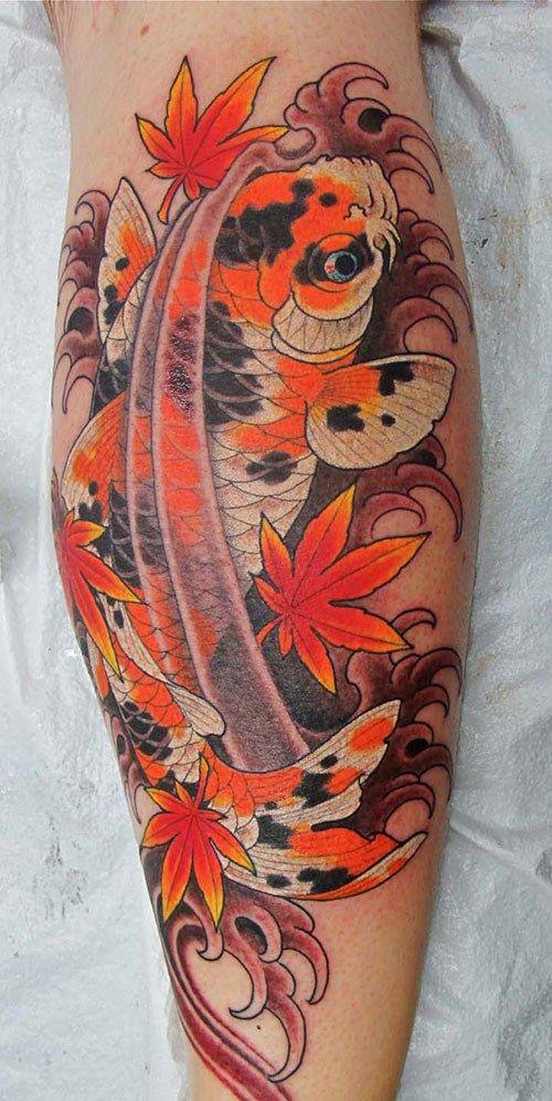 Dragon Koi Tattoo Tatouage Carpe Tatouage Carpe Koi Tatouage