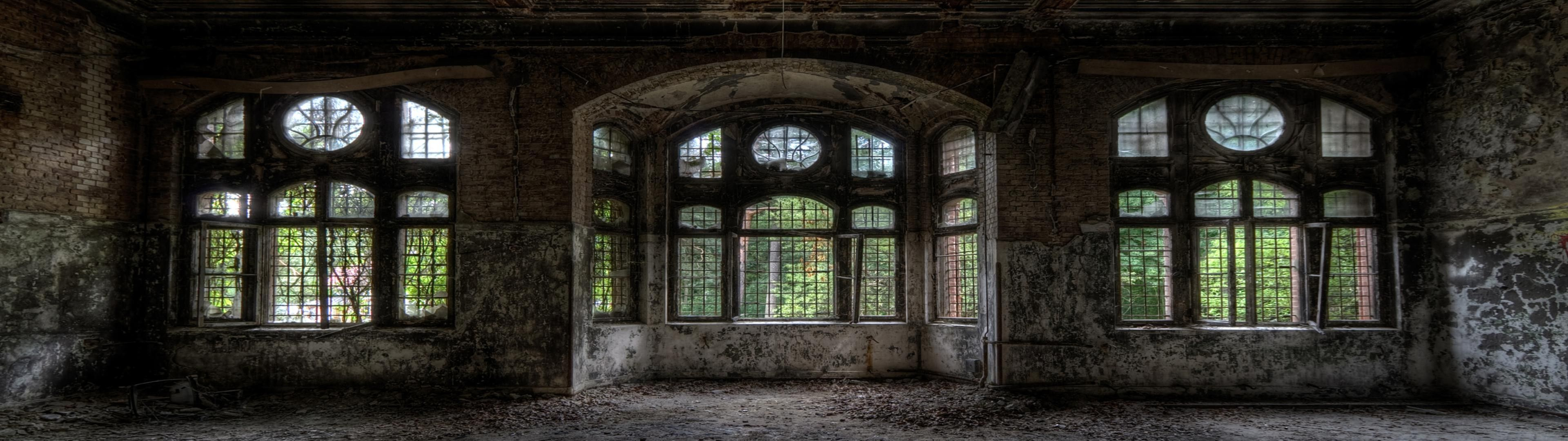 Pin by april chang on dual monitor wallpaper 3840x1080 pinterest monitor and wallpaper - The beauty of an abandoned house the art behind the crisis ...
