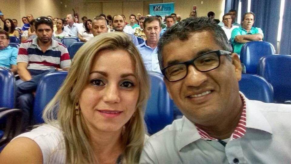 Ronaldo Freire Andrade e Alexsandra Vertuani em 19/04/2016