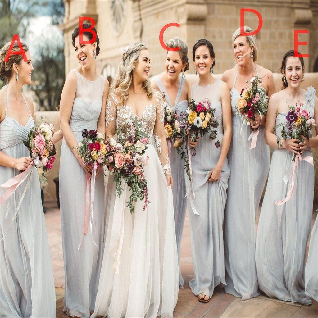 Cheap Wedding Dresses Austin: Chiffon Cheap Custom High Quality Bridesmaid Dresses