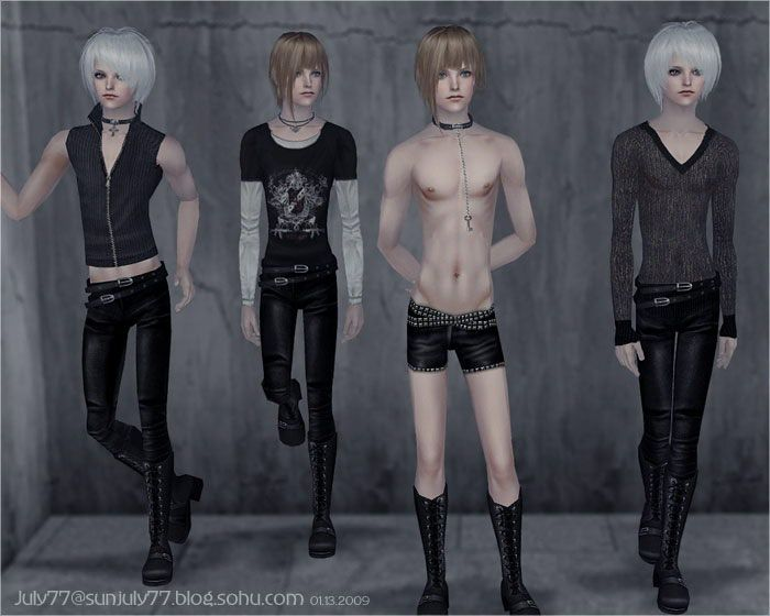 XM Sims2 free Sims 2 computer game clothing outfit everyday formal download