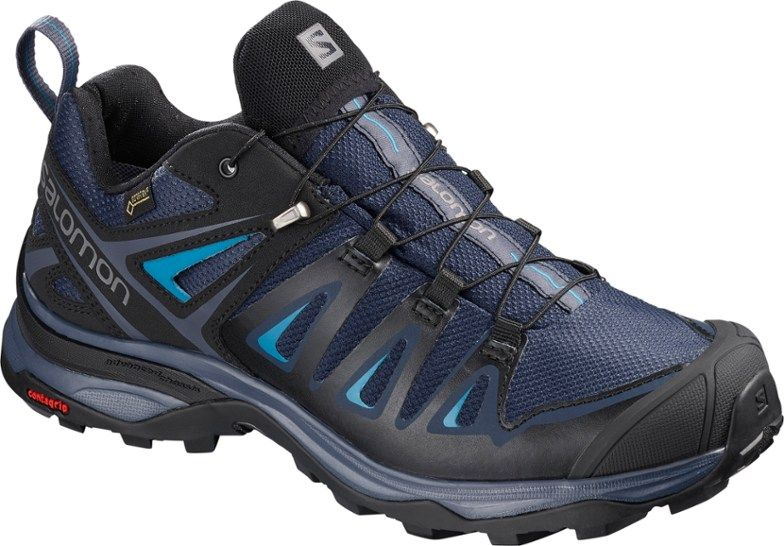 Salomon X Ultra 3 Gtx® Hiking Shoes Women Blue Black