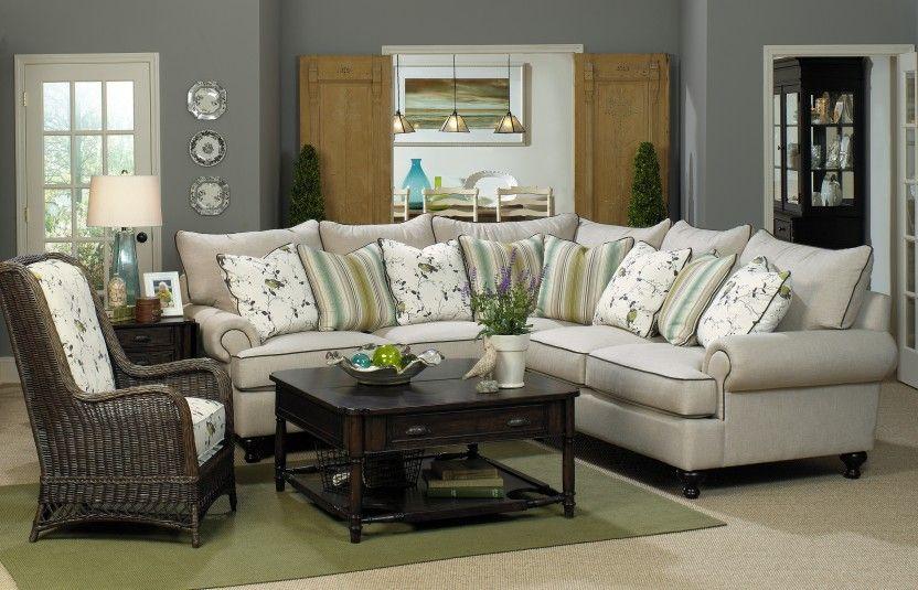 Paula Deen Duckling Sofa Sectional