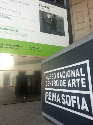 Cartel de la exposición de Chris Killip en el Museo Reina Sofía de Madrid.   #Cartel #Affiche #Arterecord 2013/2014 https://twitter.com/arterecord